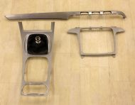 FORD S-MAX SAT-NAV CONSOLE FASCIA HOUSING SURROUND TRIM SET 2006-2010
